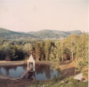 Sivananda Ashram Yoga Camp in Val Morin, Quebec - 1966.