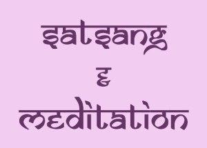 Satsang + meditation