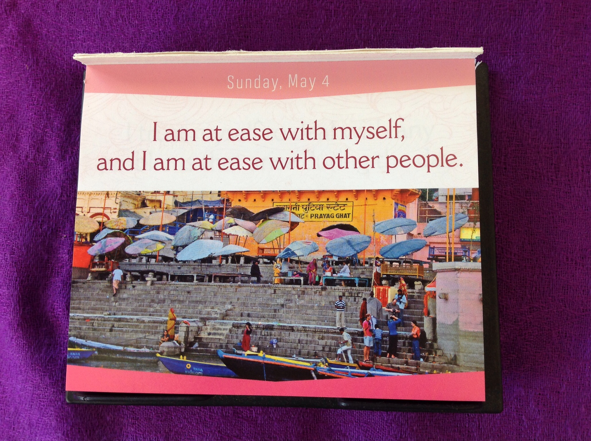 I can do it 2014 calendar hatha yoga ipswich i am at ease with myself and i am at ease with other people solutioingenieria Images