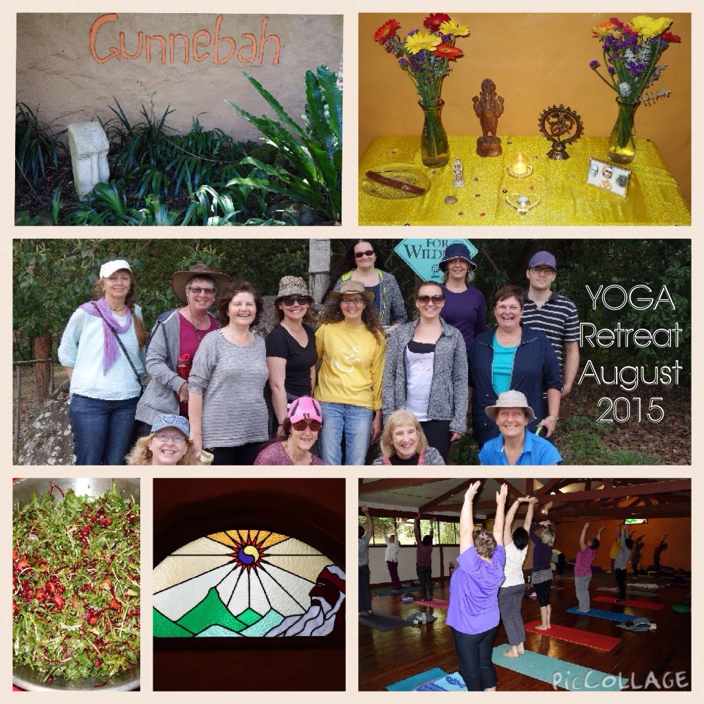 Yoga & Meditation Weekend at Gunnebah Retreat, August 2015