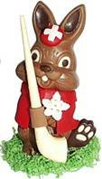Swiss Easter chocolate bunny
