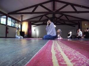 Pranayama practice