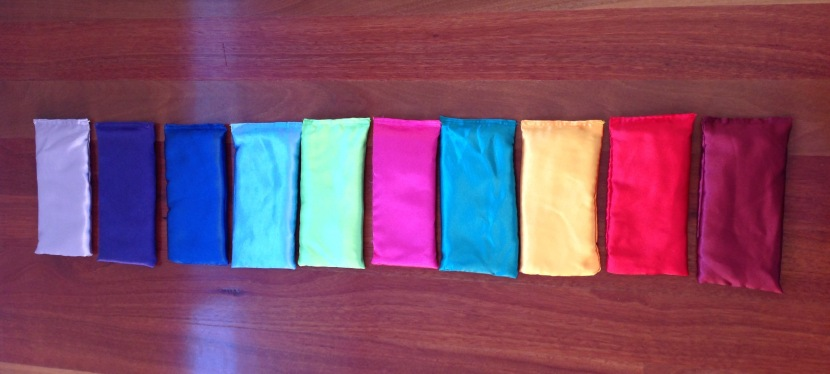 eye pillows with lavender