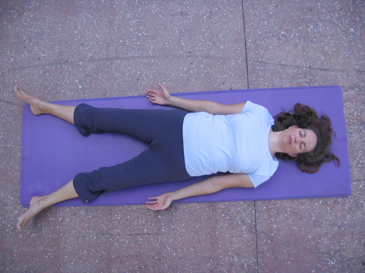 Savasana – proper relaxation – Hatha Yoga Ipswich