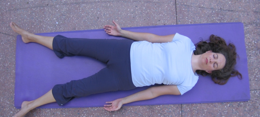 Savasana – proper relaxation