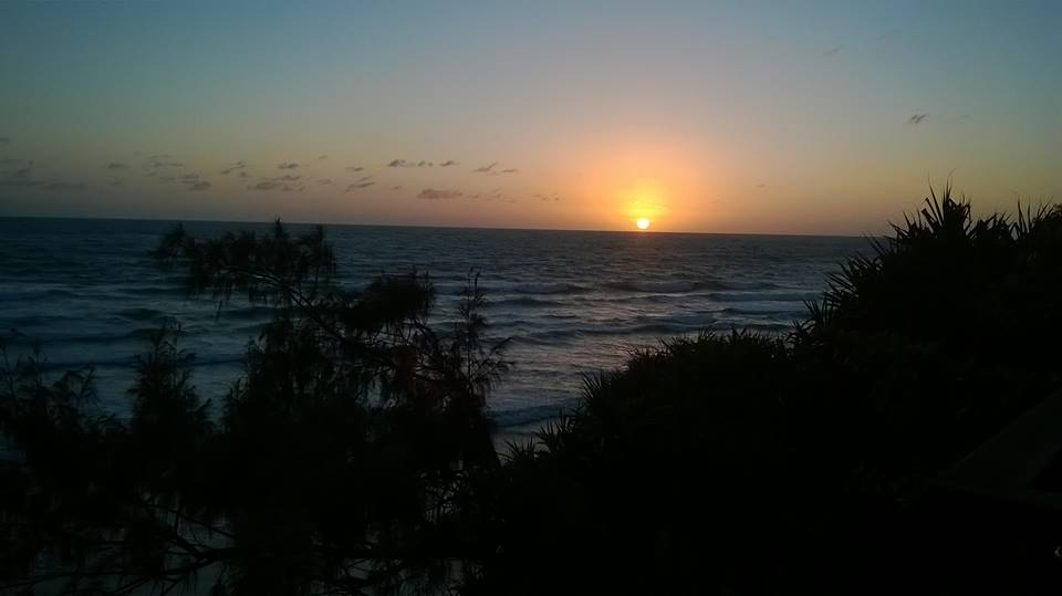 Sunrise at Coolum Beach, November 2016