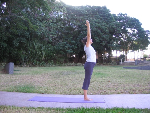 Stretch daily - sun salutation