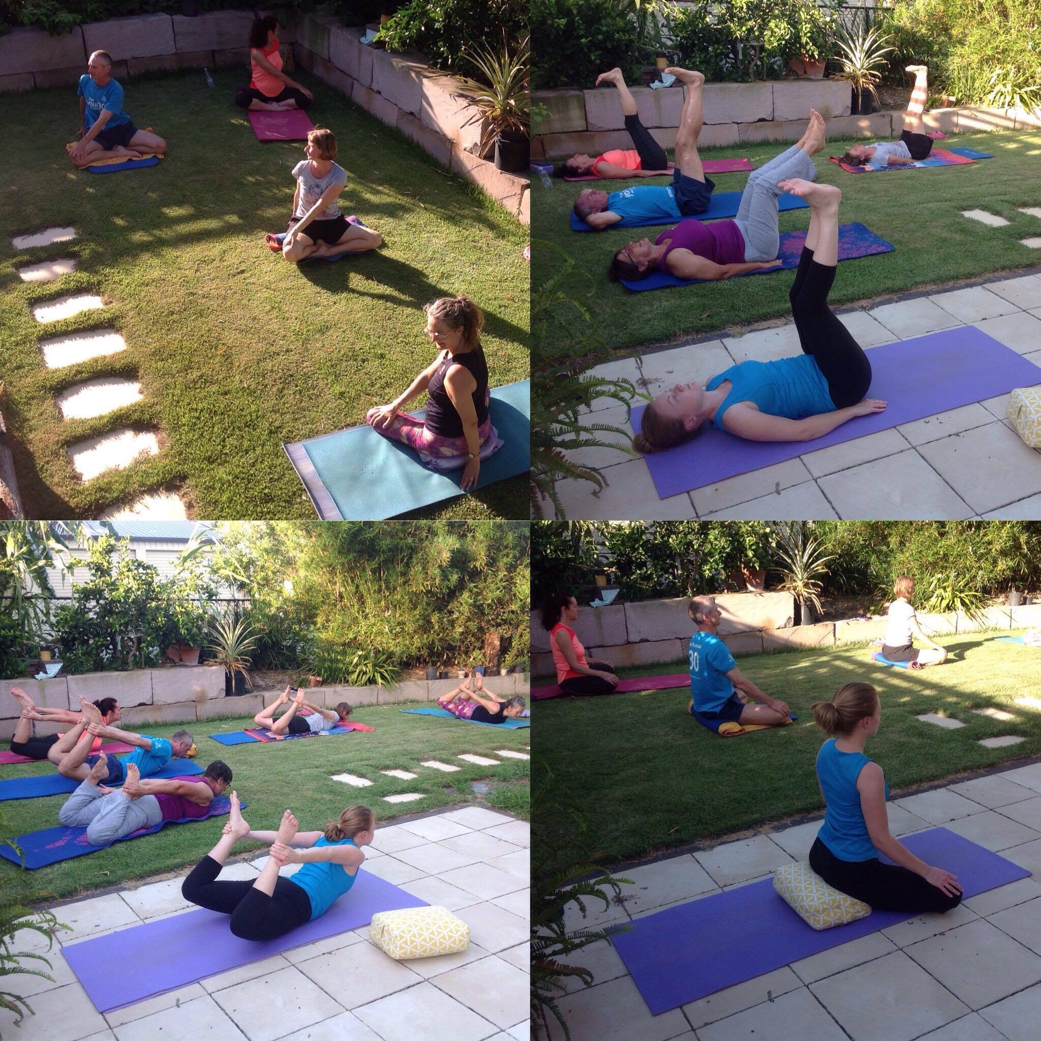 Yoga class at home January 2018