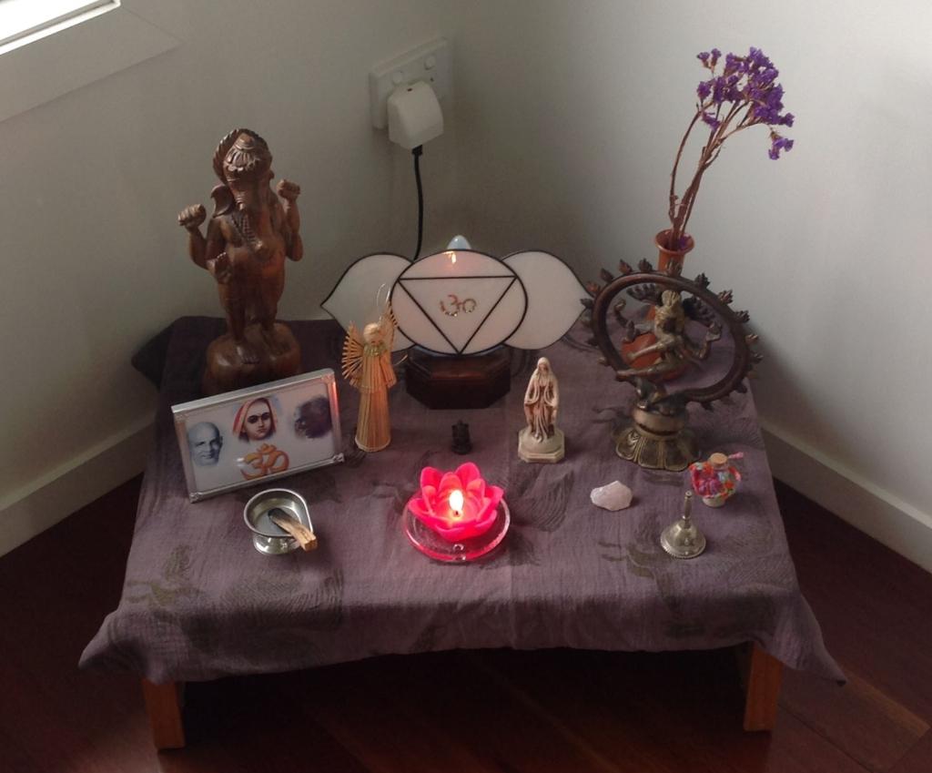 My Altar January 2019