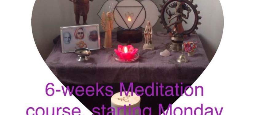 6 – weeks – meditation – course
